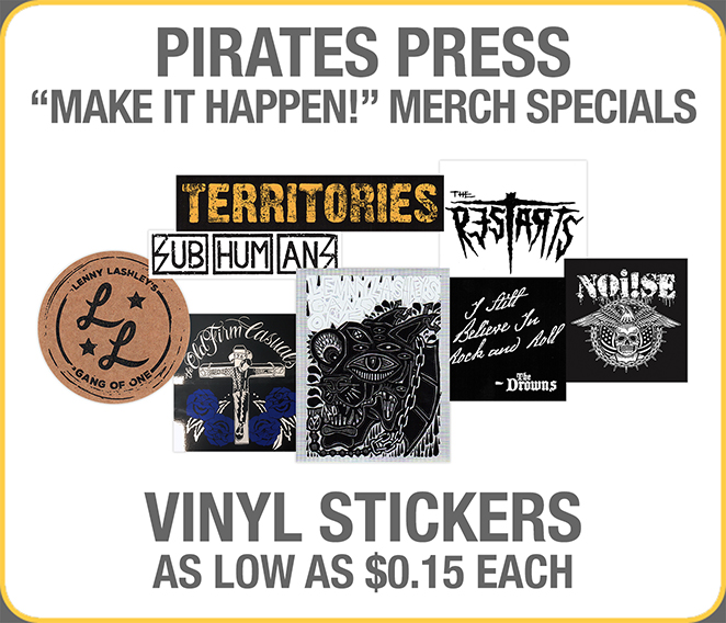 Merch Special 03 - Stickers