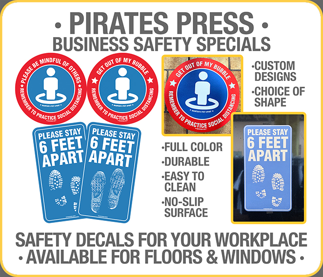 Business Safety Decals