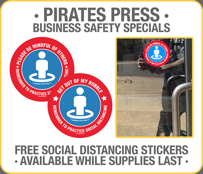 Business Safety Sticker Offer